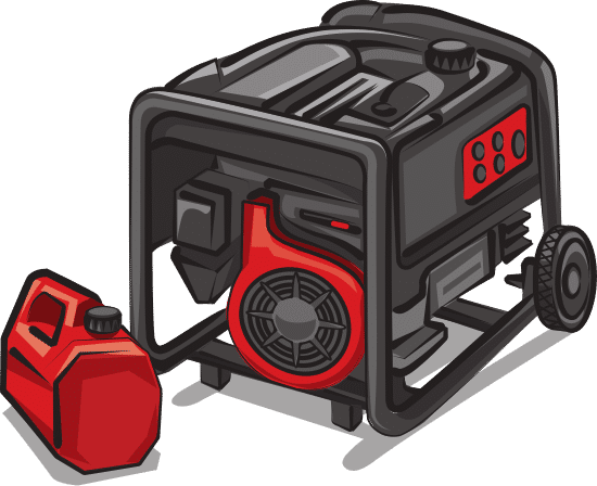 law of conservation of energy examples in which a generator converts chemical energy into mechanial energy